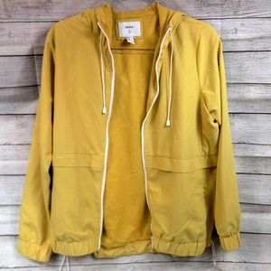 Forever 21 Yellow Light Weight Jacket
